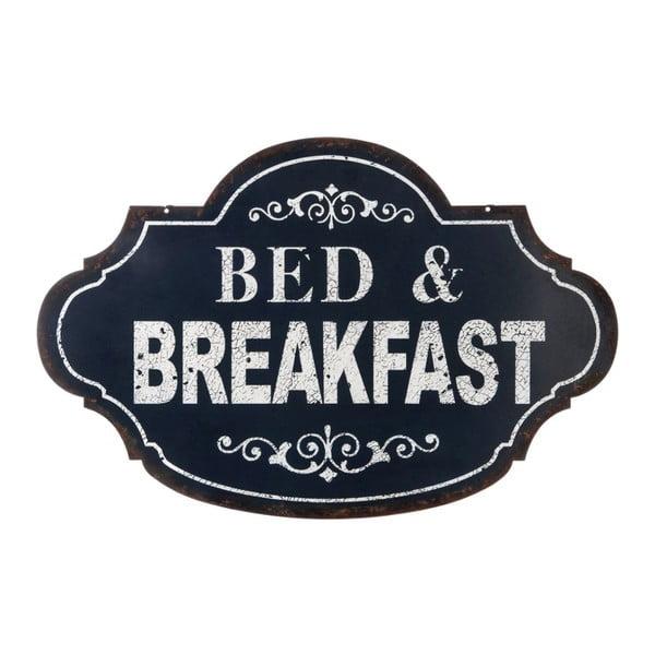 Plechová cedule Bed&Breakfast