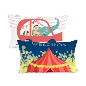 Oboustranný povlak na polštář Little W Fun Circus, 50 x 30 cm