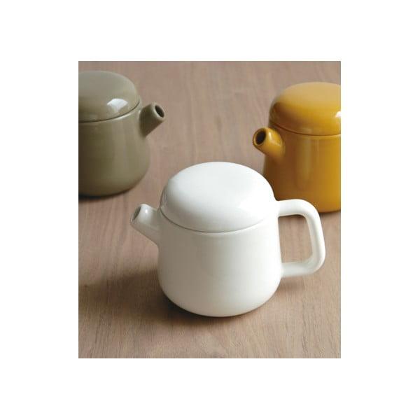 Konvice na čaj Trape 450 ml, bílá