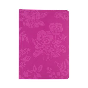 Agendă cu foi liniate, cu elastic, Portico Designs Laura Ashley, 150 file, A6