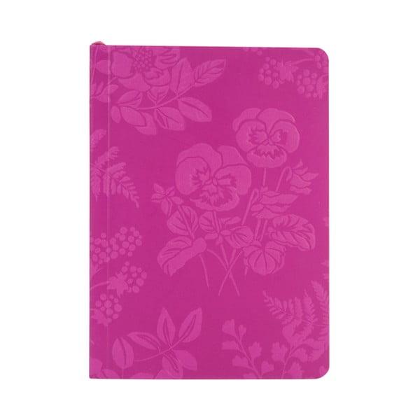 Linkovaný zápisník A6  Laura Ashley Parma Violets by Portico Designs, 150stránek