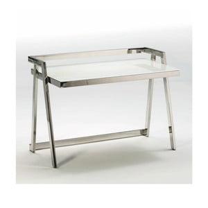 Pracovní stůl ze skla a kovu Thai Natura Excel, 120 x 86 cm