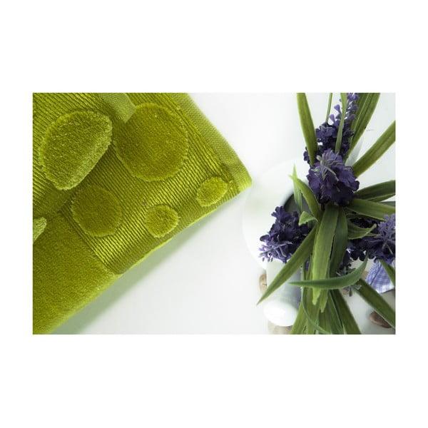 Set dvou ručníků Tropical Green, 70x140 a 50x90 cm