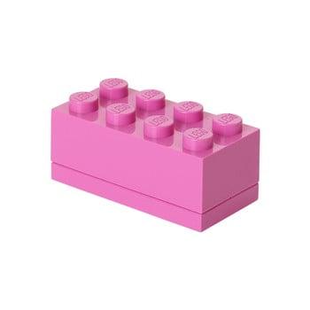 Cutie depozitare LEGO® Mini Box, roz imagine