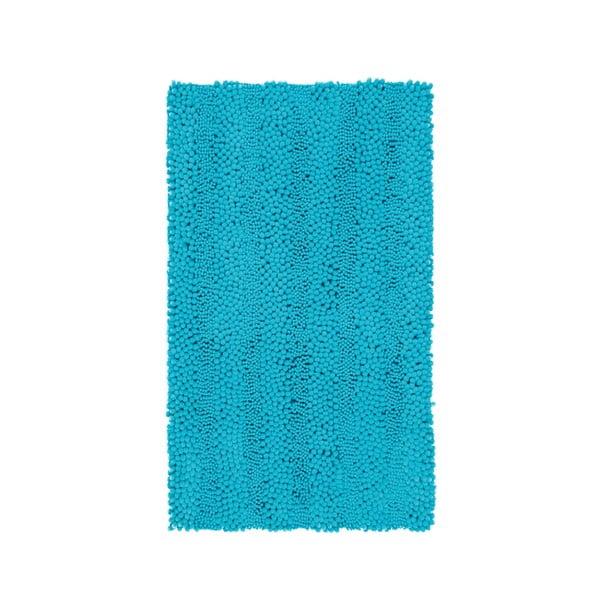 Koupelnová předložka Surface Turquoise, 65x110 cm