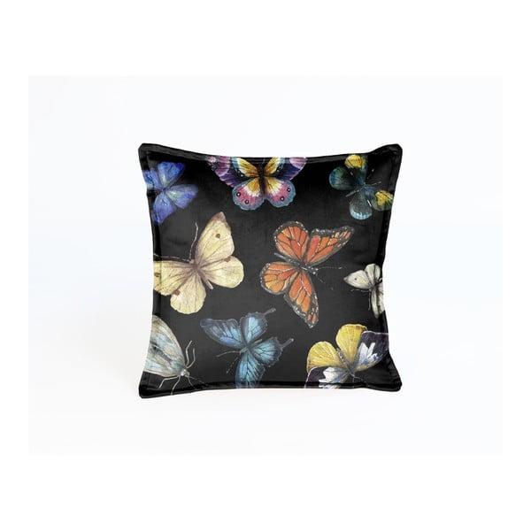 Dekoratívny vankúš Madre Selva Butterfly Nights, 45×45 cm