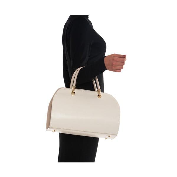 Kožená kabelka Mangotti 415 Beige