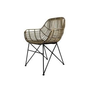 Jídelní židle z kovu a dřeva HSM collection