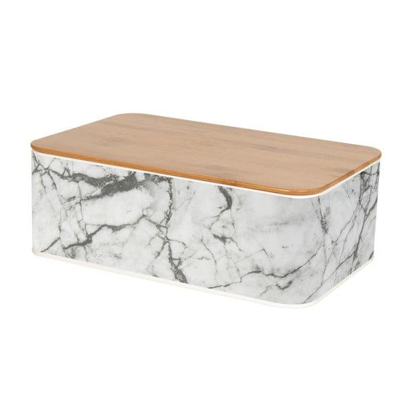 Dóza na chleba Present Time Marble Tin