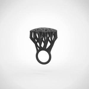 Prsten Ring Tree černá