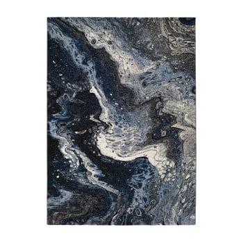 Covor Universal Kael Malo, 120 x 170 cm, albastru închis imagine