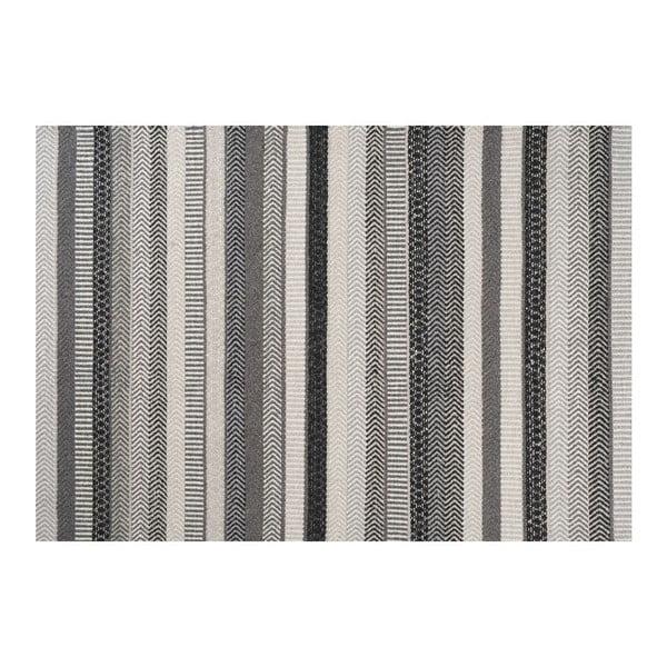 Vlněný koberec Mariko Grey, 170x240 cm