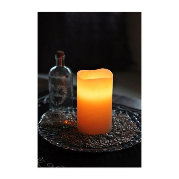LED svíčka Real Orange, 12 cm