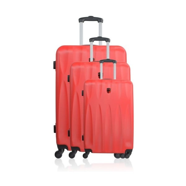 Sada 3 cestovních zavazadel San Antonio