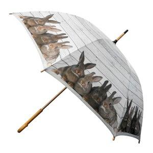 Deštník Scaffold Wood Rabbits Brown