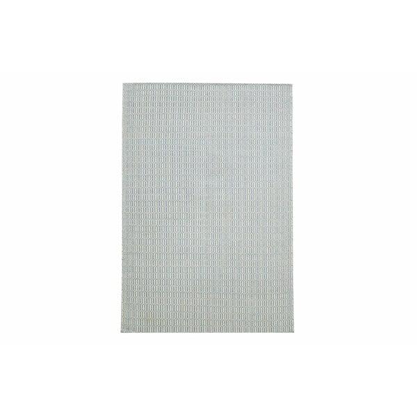 Ručně tkaný koberec Light Blue Retro Kilim, 154x224 cm