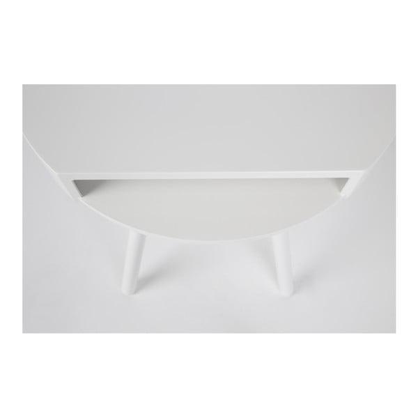 Masă Zuiver Hide & Seek, albă