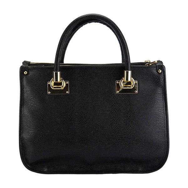Kožená kabelka Melina Black
