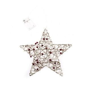 Dekorativní hvězda s 20 led světýlky Dakls