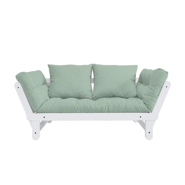 Beat White/Mint kinyitható kanapé - Karup Design