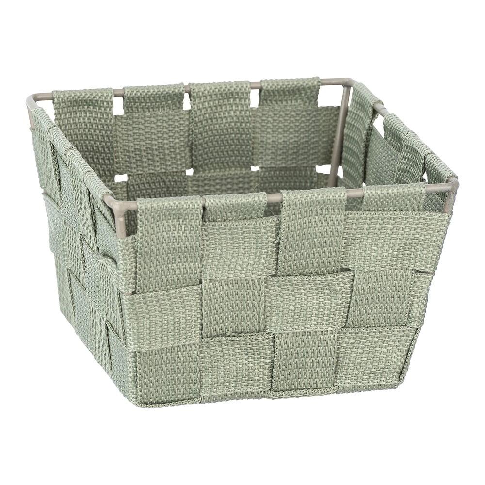 Produktové foto Zelený úložný box Wenko Adria, 14x14cm