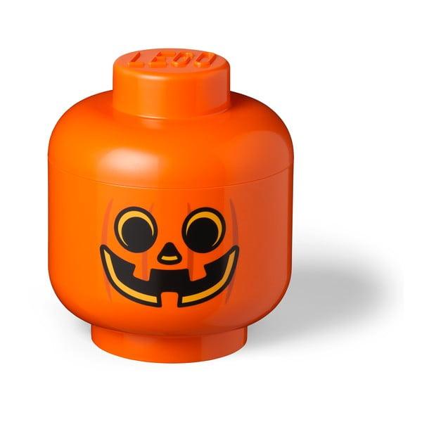 Pumpkin Head L narancssárga tárolódoboz - LEGO®