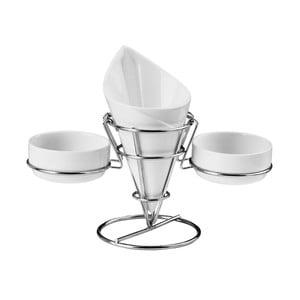 Stojan na hranolky a omáčky Premier Housewares French Fry Cone