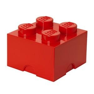 Úložná kostka, červená
