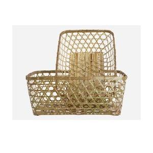 Set dvou košíků Bamboo natural