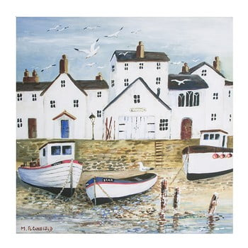 Reproducere tablou Graham & Brown Harbourside, 50 x 50 cm de la Graham & Brown