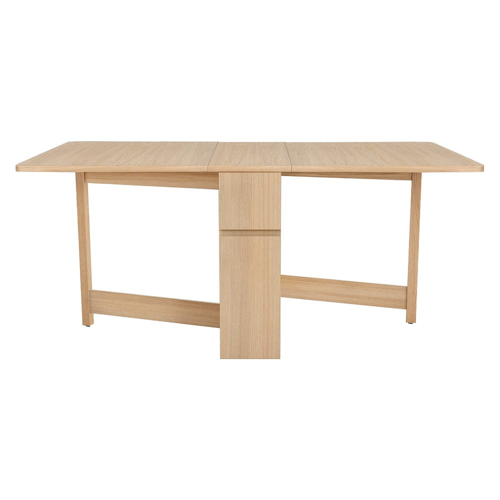 Rozkládací stůl z dubového dřeva Woodman Mel