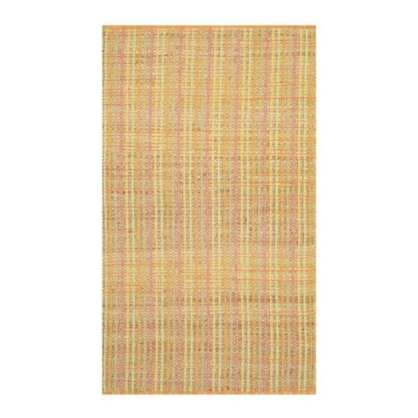 Koberec Safavieh Malaga, 91x152 cm, žlutý