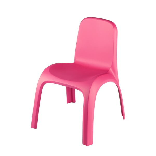 Ružová detská stolička Curver