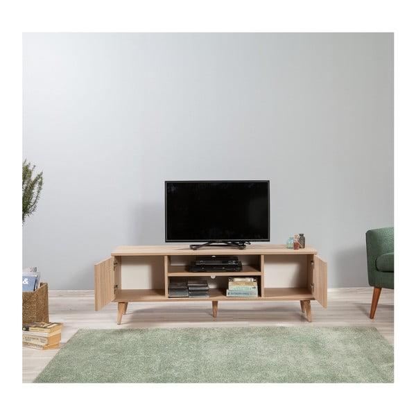 TV stůl Truva Green, šířka 140 cm