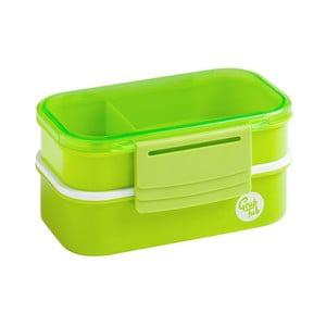 Set 2 zelených svačinových boxů Premier Housewares Grub Tub,13,5x10cm