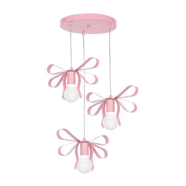 Emma Tres rózsaszín függőlámpa