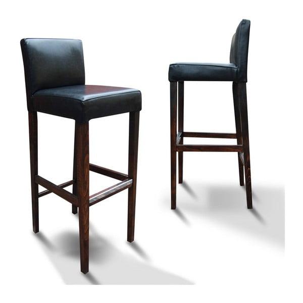 Vysoká židle 77 Black