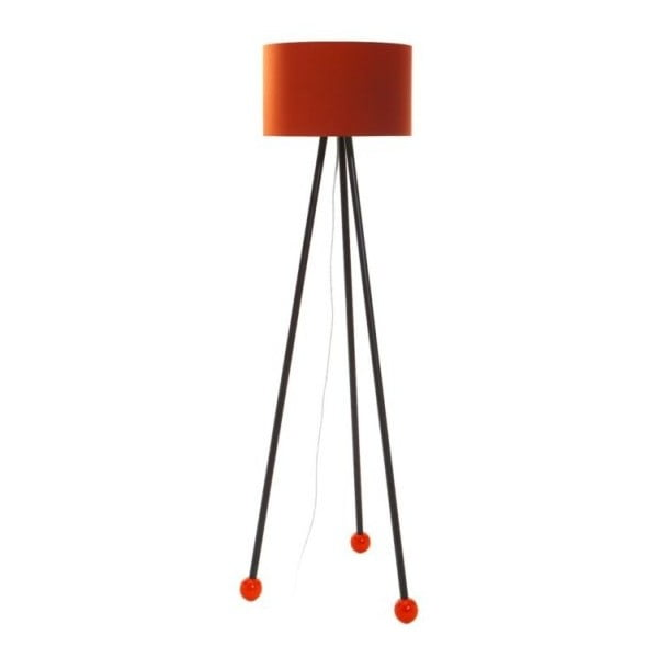 Stojací lampa Morello Orange/Black