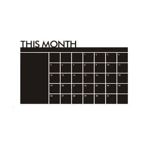 Samolepka Calendario