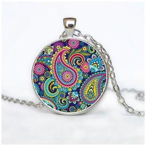 Dámský řetízek s přívěskem Butoni de Camasa Hippie Ornaments