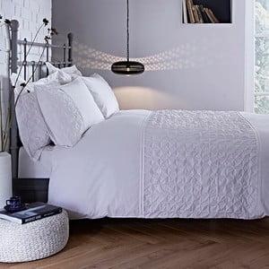 Lenjerie de pat Origami White, 135x200cm,albă
