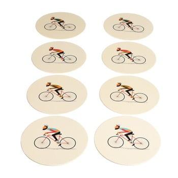Set 8 suporturi pentru căni Rex London Le Bicycle imagine