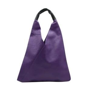 Fialová kabelka z pravé kůže Andrea Cardone Karula
