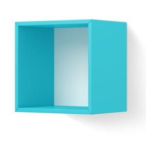 Modrá nástěnná police Timoore PL Plus Box