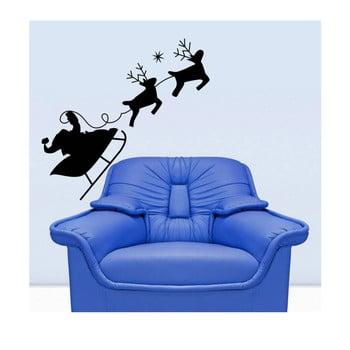 Autocolant de perete Christmas Ride 43x42 cm