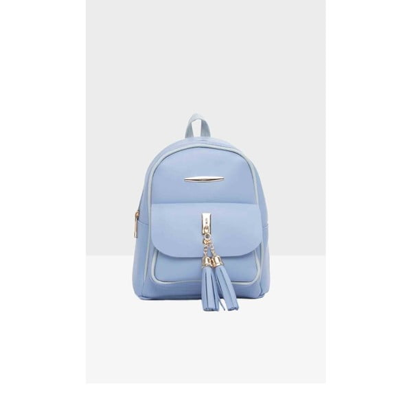 c2c48bd8acb Světle modrý dámský batoh Mori Italian Factory Paresso Laro