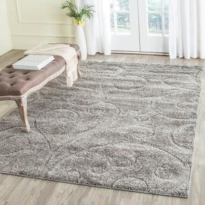 Šedý koberec Safavieh Chester, 160 x 228cm