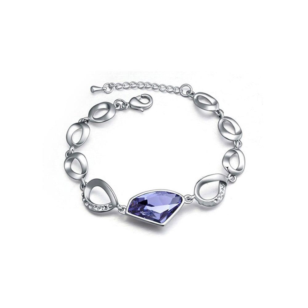 Náramek s krystaly Swarovski Elements Crystals Lemoine