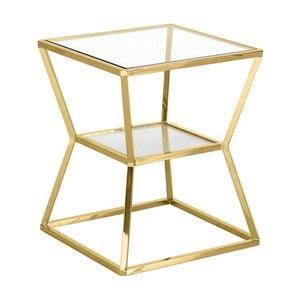 Odkládací stolek ve zlaté barvě Artelore Ascari