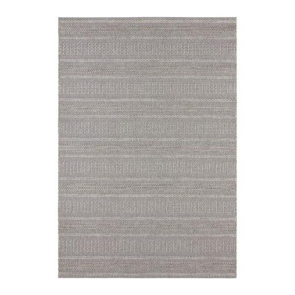 Šedý koberec vhodný i na ven Elle Decor Brave Arras, 80 x 150 cm